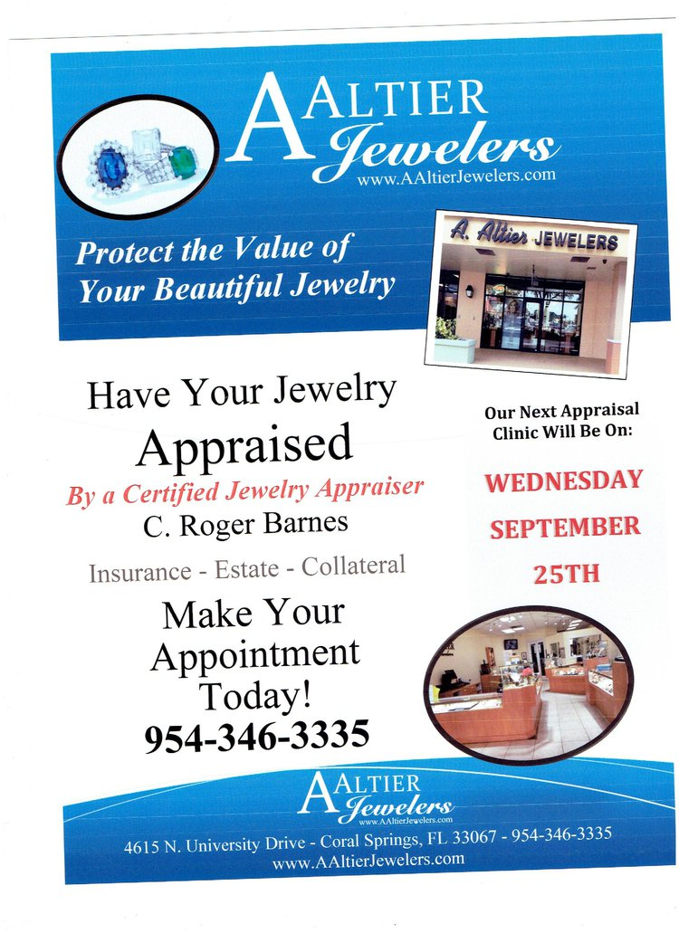 Monthly Appraisal Clinic